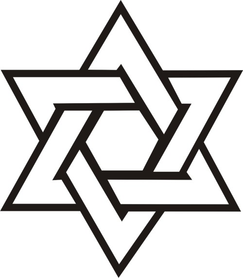 small resolution of star of david vector clipart library