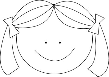 Free Girl Face Clipart Black And White Download Free Clip Art Free Clip Art on Clipart Library