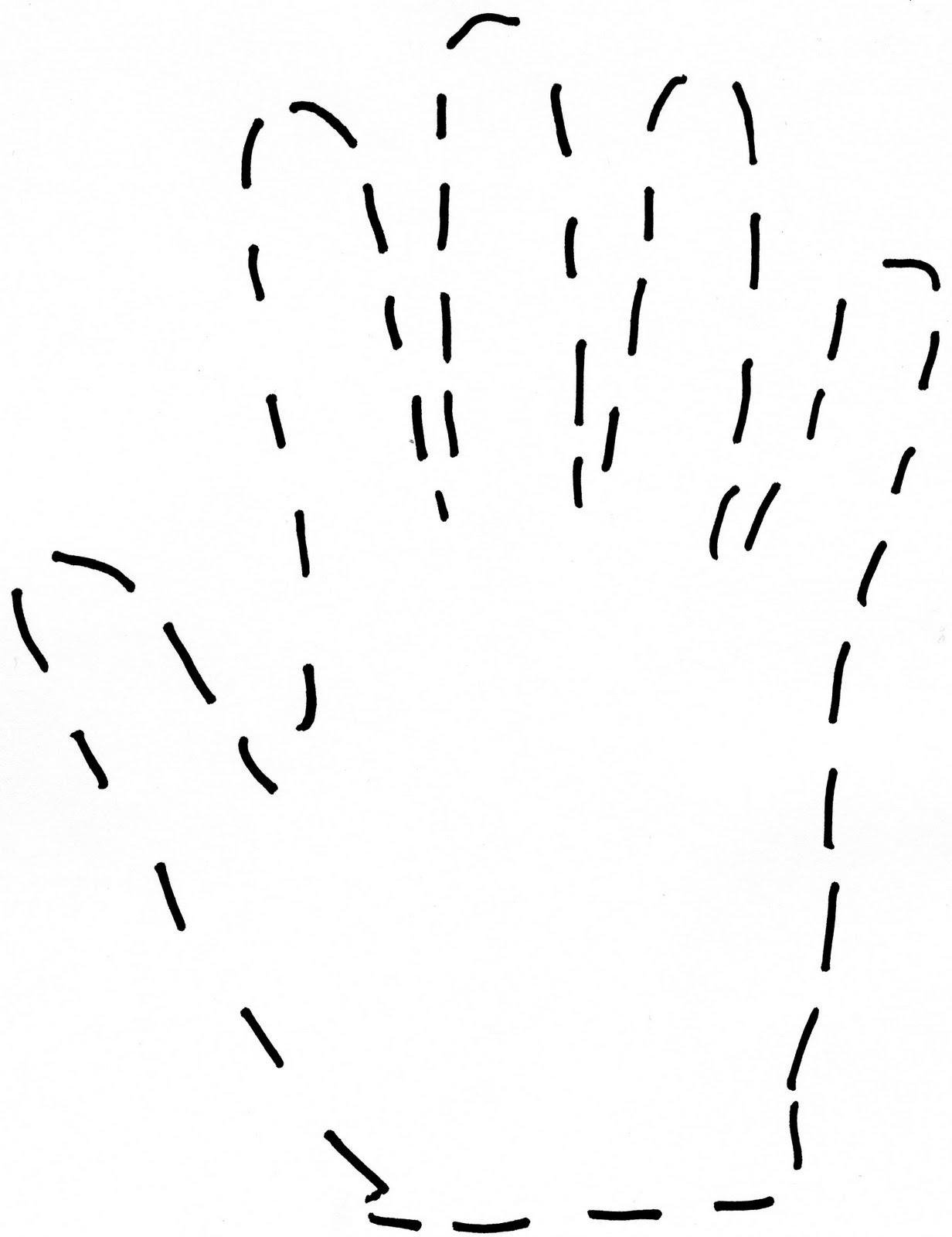 Free Handprint Template, Download Free Clip Art, Free Clip