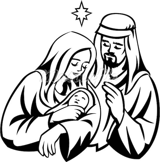 Free Mary And Baby Jesus Clipart, Download Free Clip Art