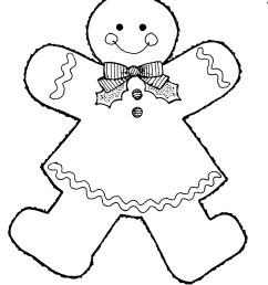 images for gingerbread man clip art [ 1105 x 1297 Pixel ]