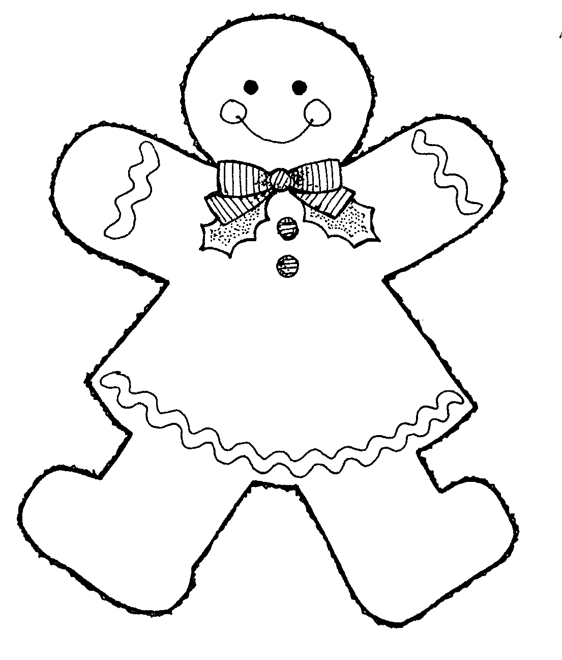 hight resolution of images for gingerbread man clip art