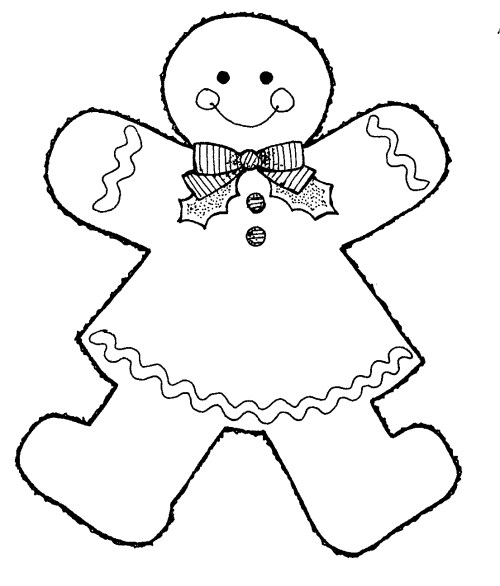 small resolution of images for gingerbread man clip art