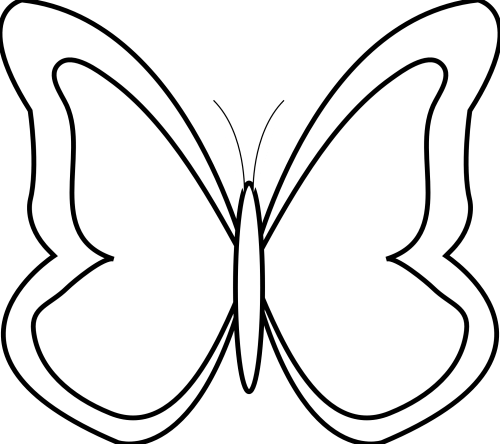 small resolution of butterfly and flower clip art black and white widescreen 2 hd