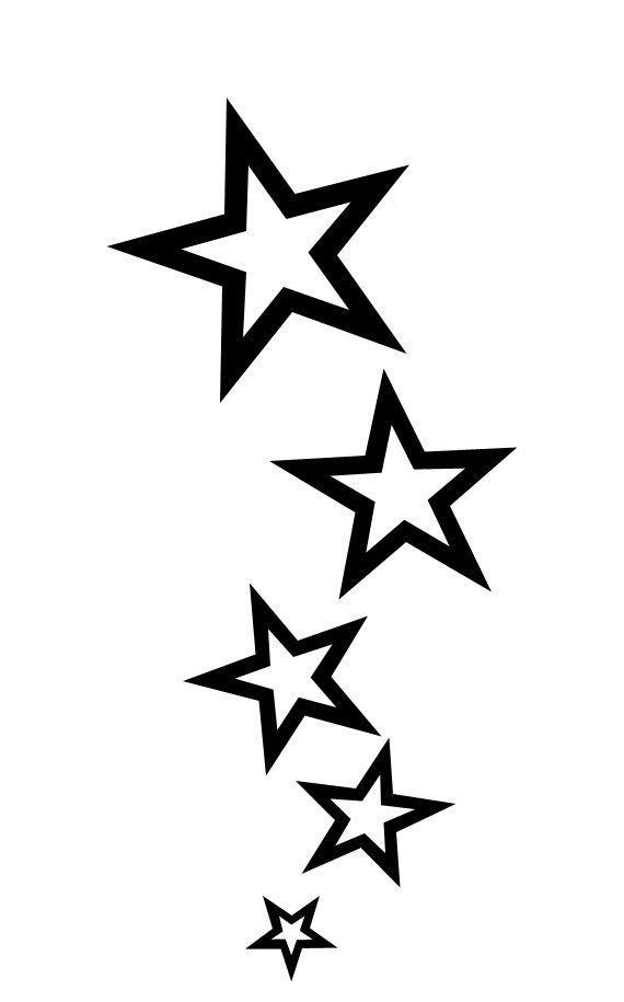 Star Tattoo Png : tattoo, Tattoo, Download, Clipart, Library