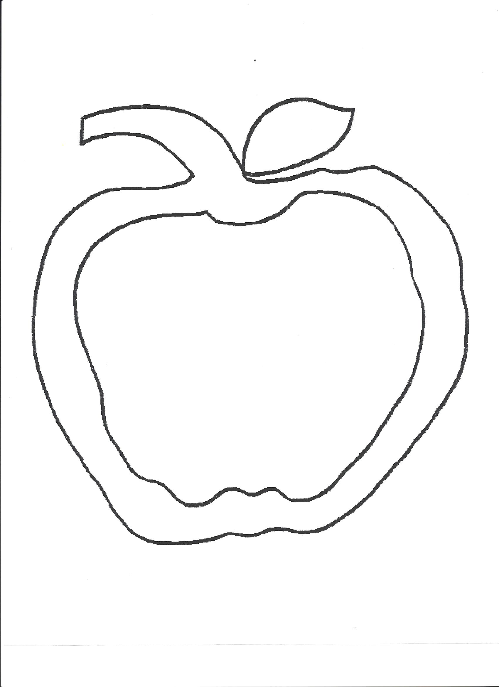 Free Apple Leaf Template, Download Free Clip Art, Free