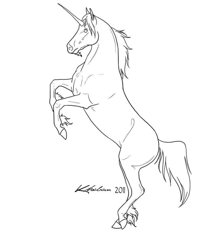 Free Simple Unicorn, Download Free Clip Art, Free Clip Art