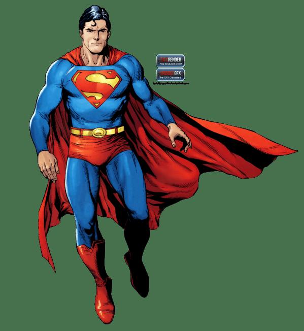 Superman Render Transparent