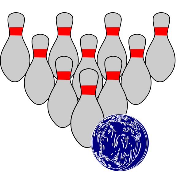 Free Of People Bowling Clip Art