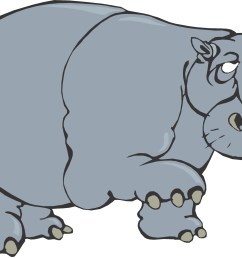 cartoon hippo [ 2825 x 1653 Pixel ]