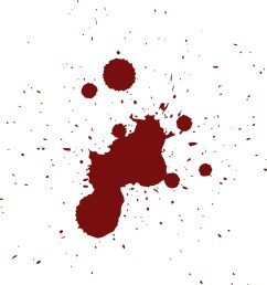 blood splat png clipart library [ 1854 x 2255 Pixel ]