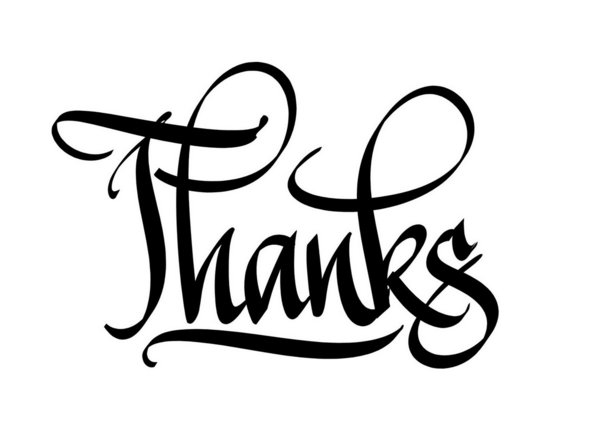 Free How To Write Thank You In Calligraphy, Download Free