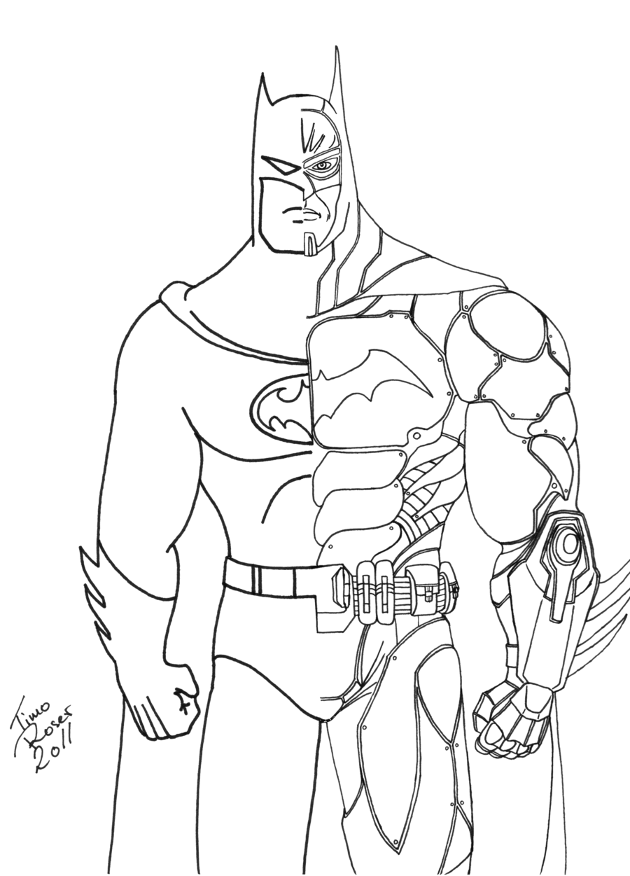 Free Outline Of Batman, Download Free Clip Art, Free Clip