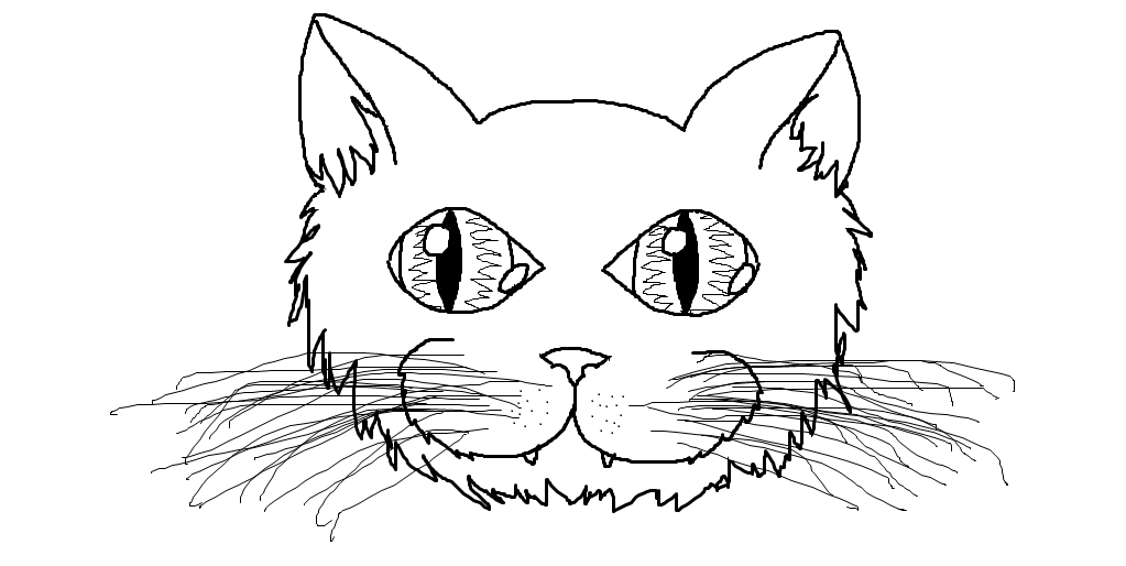Free Cat Face Template, Download Free Clip Art, Free Clip
