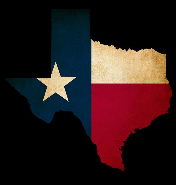 Free Outline Of State Texas Clip Art