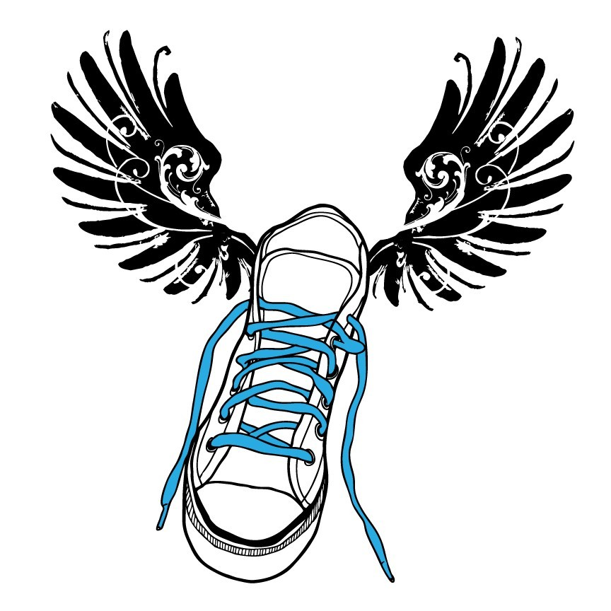 Free Cartoon Running Shoe, Download Free Clip Art, Free