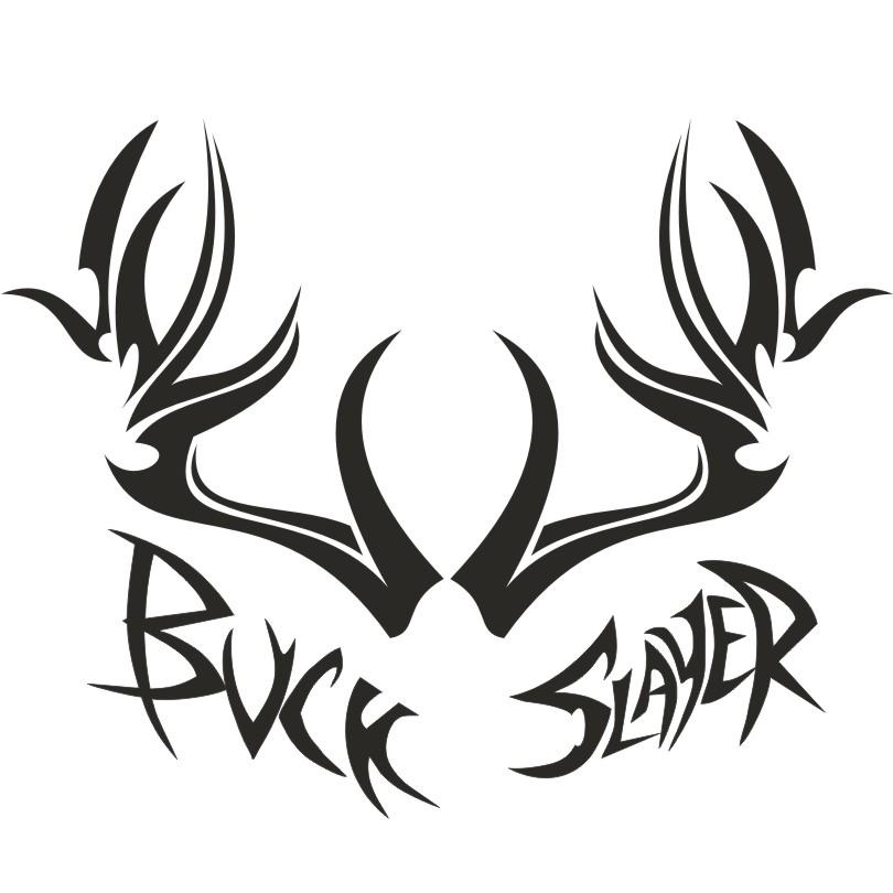 Buck Slayer Deer Skull T Shirt