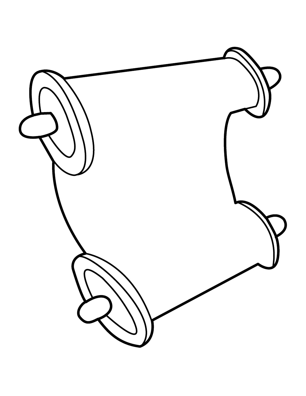 Free Scroll Clipart Image