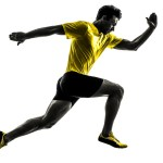 Free Silhouette Of Man Running Download Free Clip A