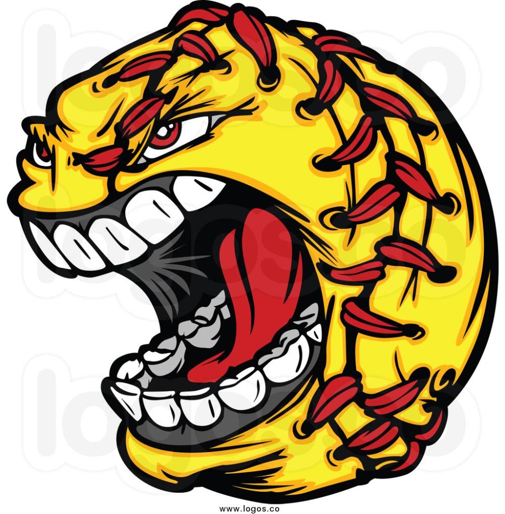 medium resolution of softball clip art royalty free clip art vector logo of a screaming