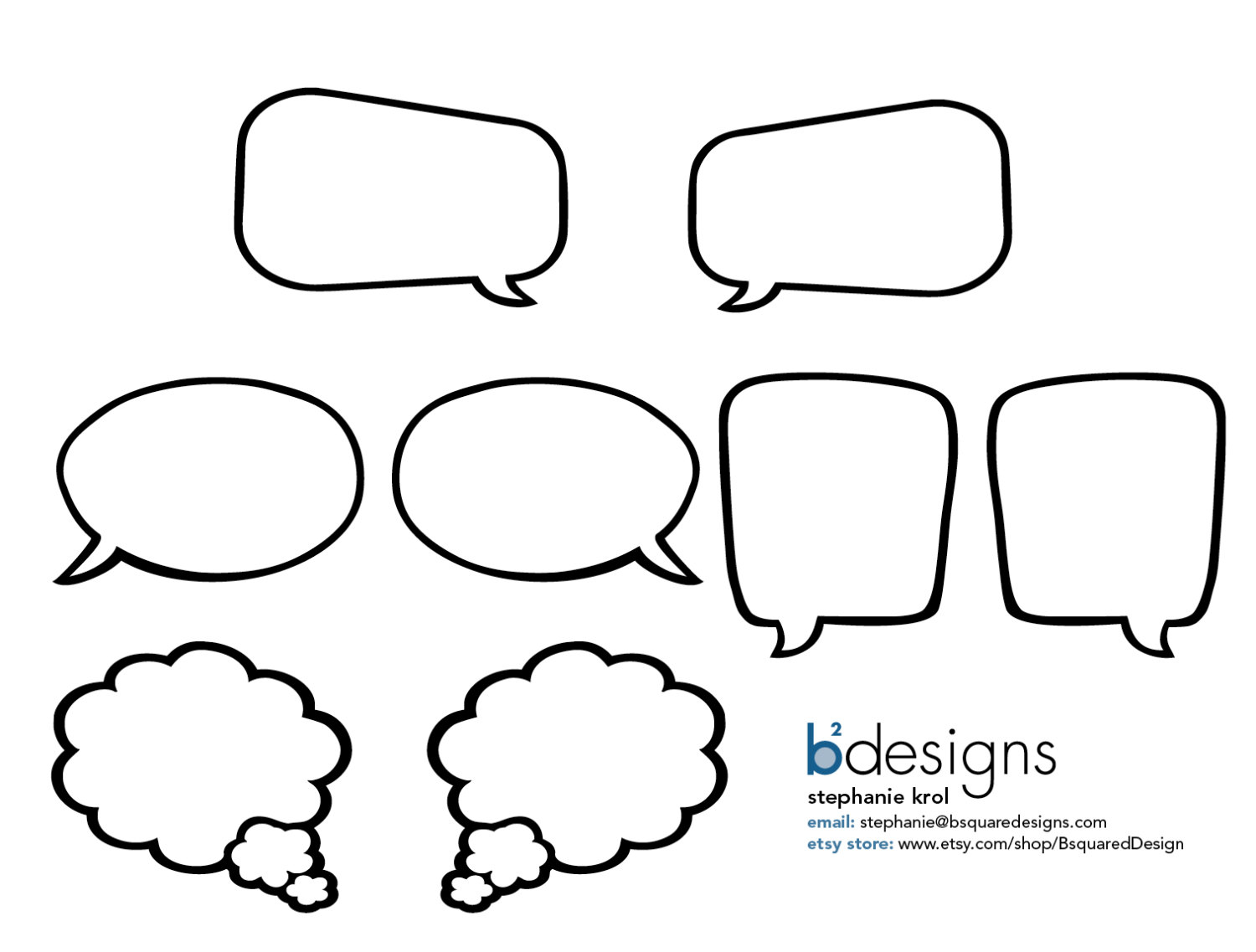 Free Speech Bubble Printable, Download Free Clip Art, Free