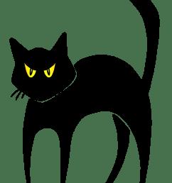 halloween black cat clipart funkyfunz [ 3000 x 4000 Pixel ]