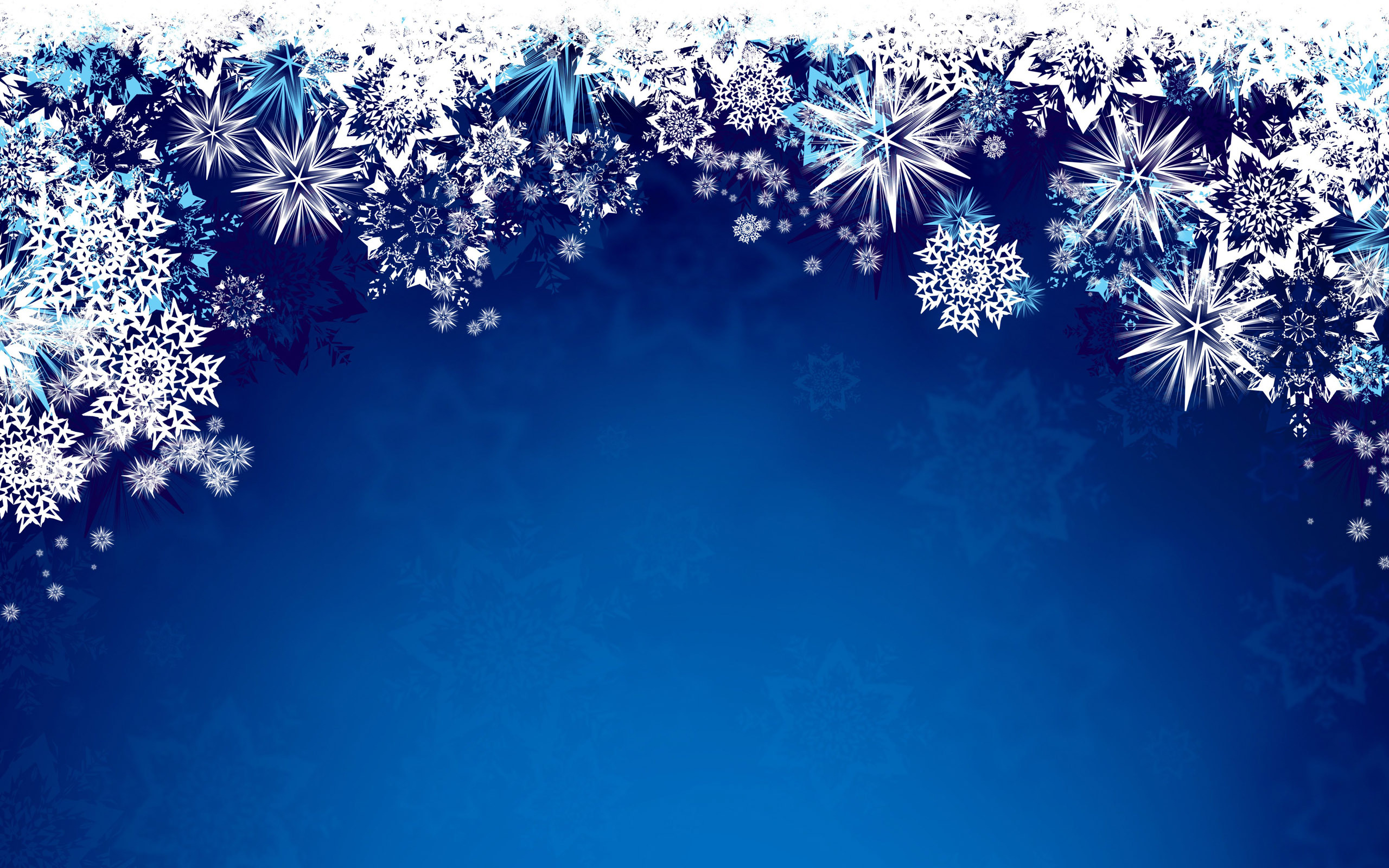 Advent Powerpoint Background Blue