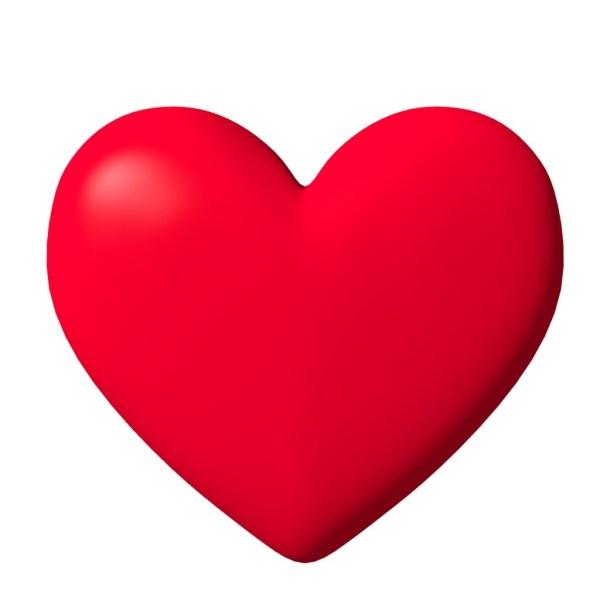 Free 3d Heart Clip Art