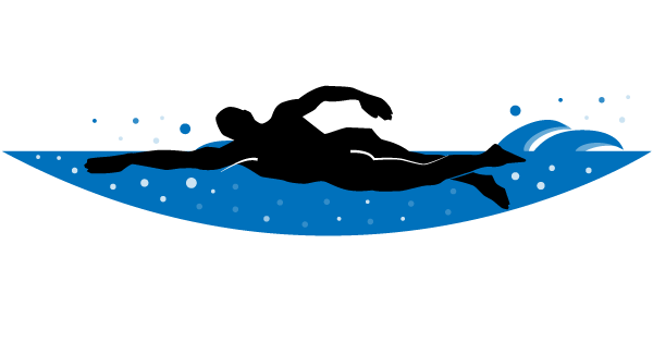 free swimming graphic download