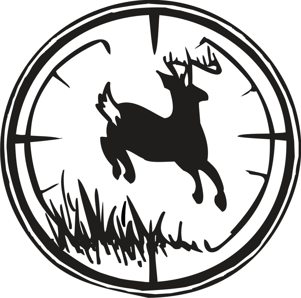 hight resolution of hunting clipart black and white clipart library free clipart images