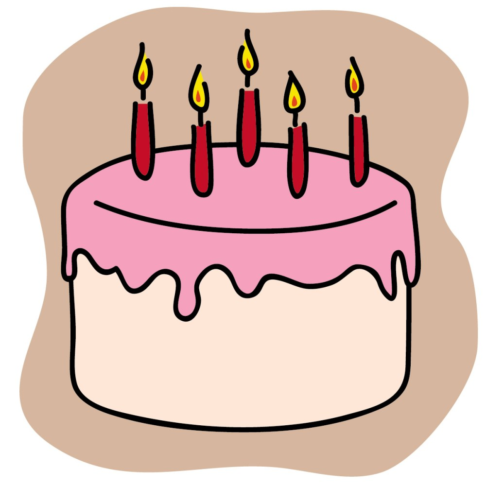 medium resolution of free birthday cake clip art clipart library free clipart images