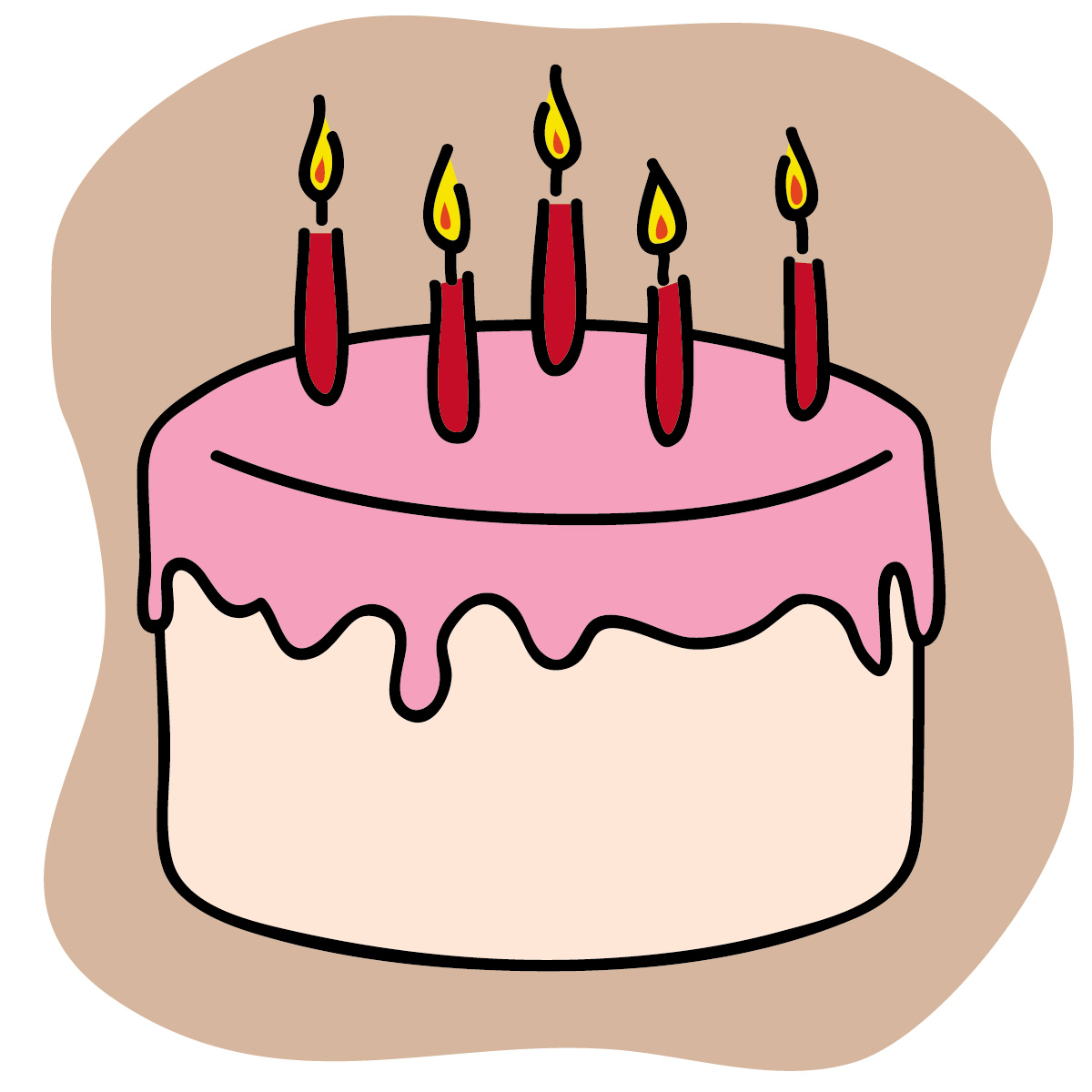 hight resolution of free birthday cake clip art clipart library free clipart images