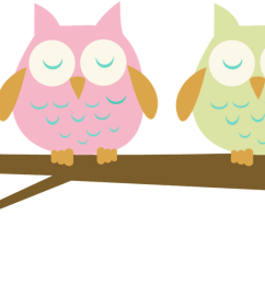 pink baby owl clipart clipart library free clipart images [ 1600 x 694 Pixel ]