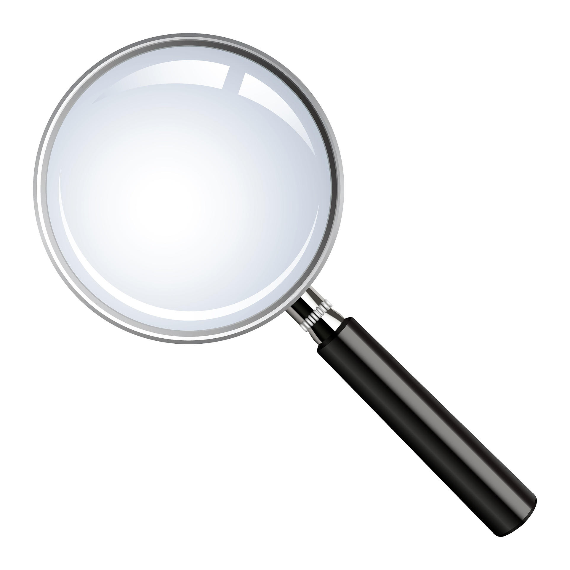 hight resolution of photo of magnifying glass clipart library