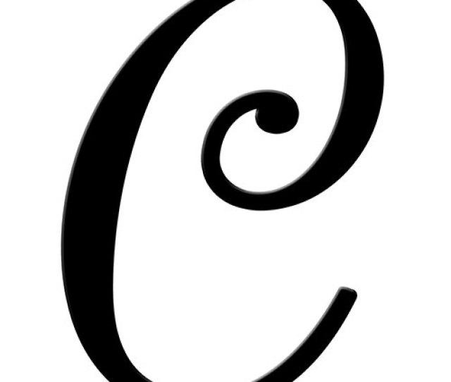 Fancy C Letter Clipart Library