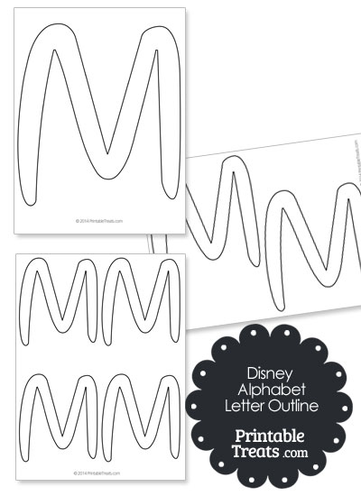 Free Letter M Outline, Download Free Clip Art, Free Clip