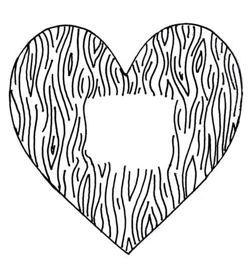 small resolution of the mayberry sparrow faux bois valentines a diy rubber stamp