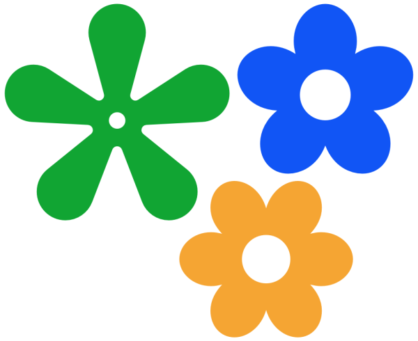 free simple flower vector
