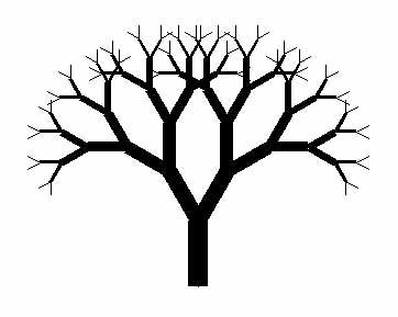 Dead Oak Tree Drawing