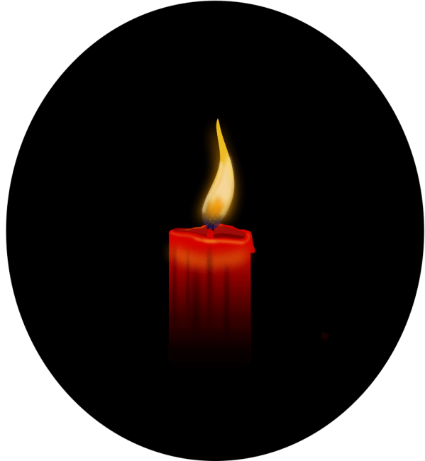 Free Candle Flame Clipart Clip Art