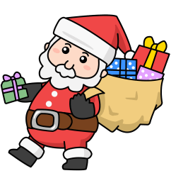 santa claus clip art animated clipart library free clipart images [ 1200 x 1229 Pixel ]