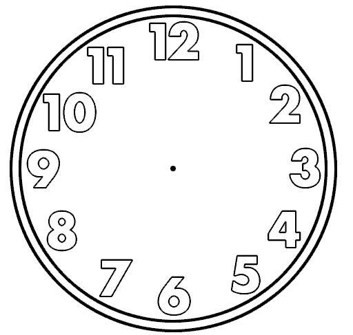 Free Blank Digital Clock Faces, Download Free Clip Art