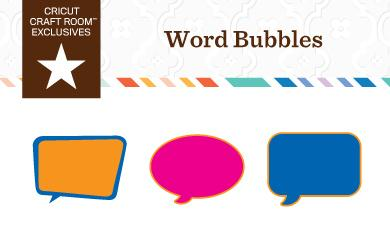free word bubbles