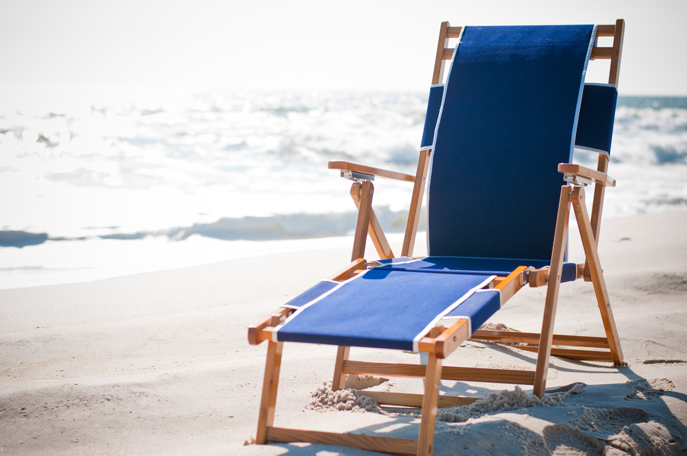 Beach Lounger Chair Oak Wood Beach Chair Ett Distributors