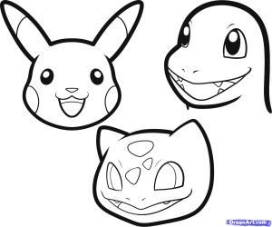 easy cool drawings pokemon clipart drawing step clip pen library mew