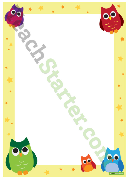 Cute Owl Wallpaper Border Free Owl Borders Download Free Clip Art Free Clip Art On