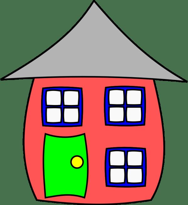Cartoon House Clip Art