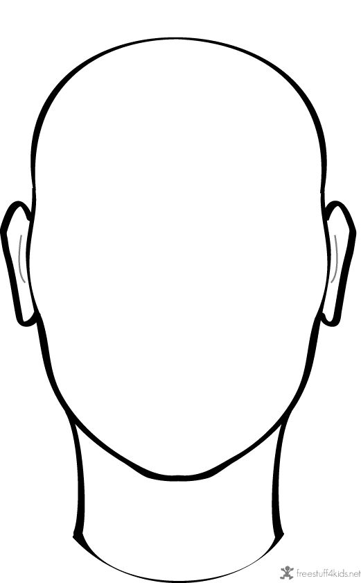 Free Blank Face Template, Download Free Clip Art, Free