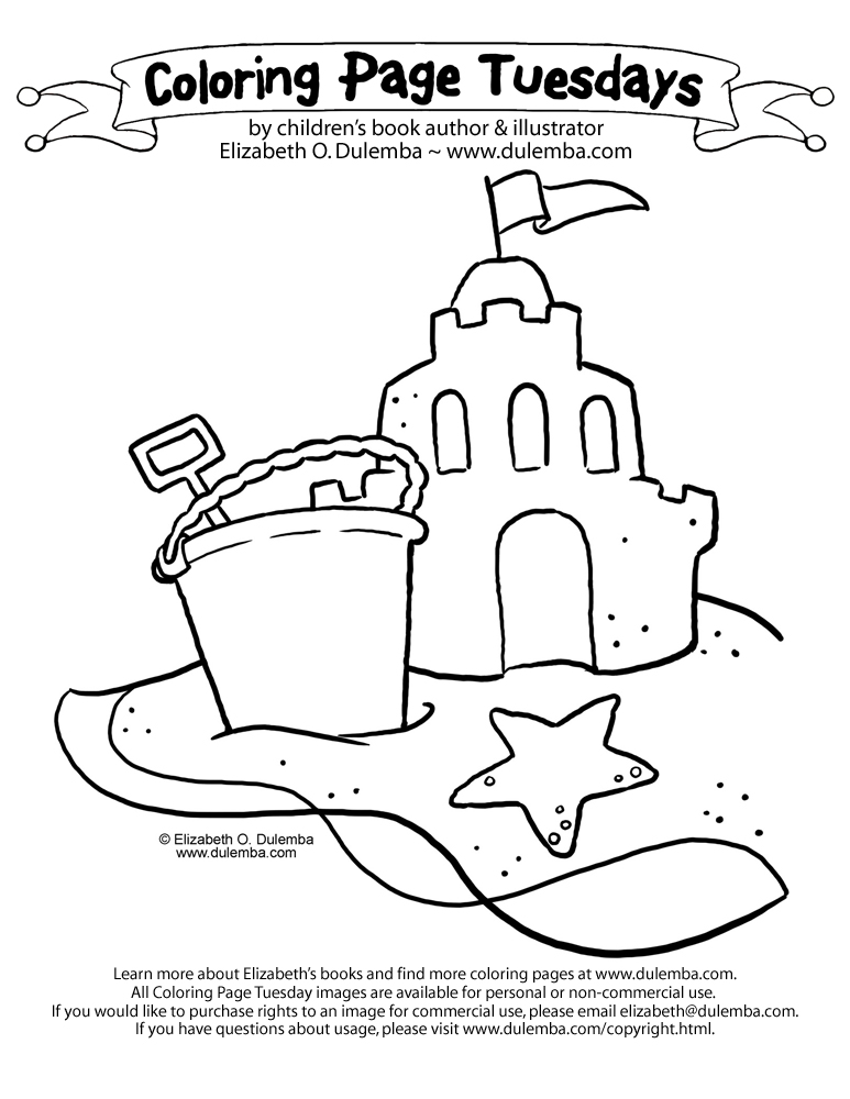 Free Drawing Of A Sandcastle, Download Free Clip Art, Free