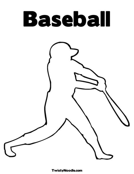 Free Baseball Outlines Jpg, Download Free Clip Art, Free